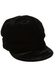 Nine West Women's Velvet Newsgirl Hat