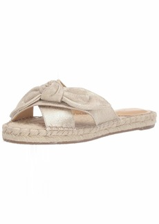 Nine West Women's wnBRIELLE7 Flat Sandal   M US