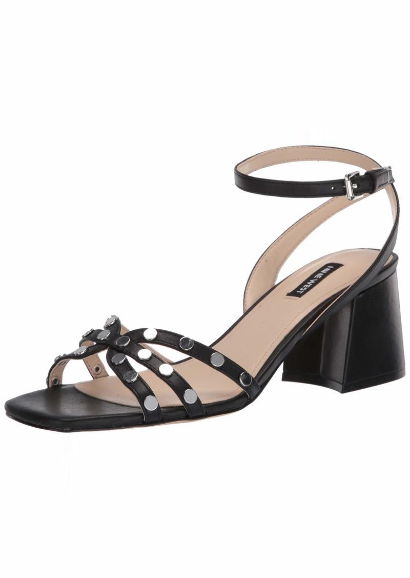 NINE WEST womens Wngale Heeled Sandal   US