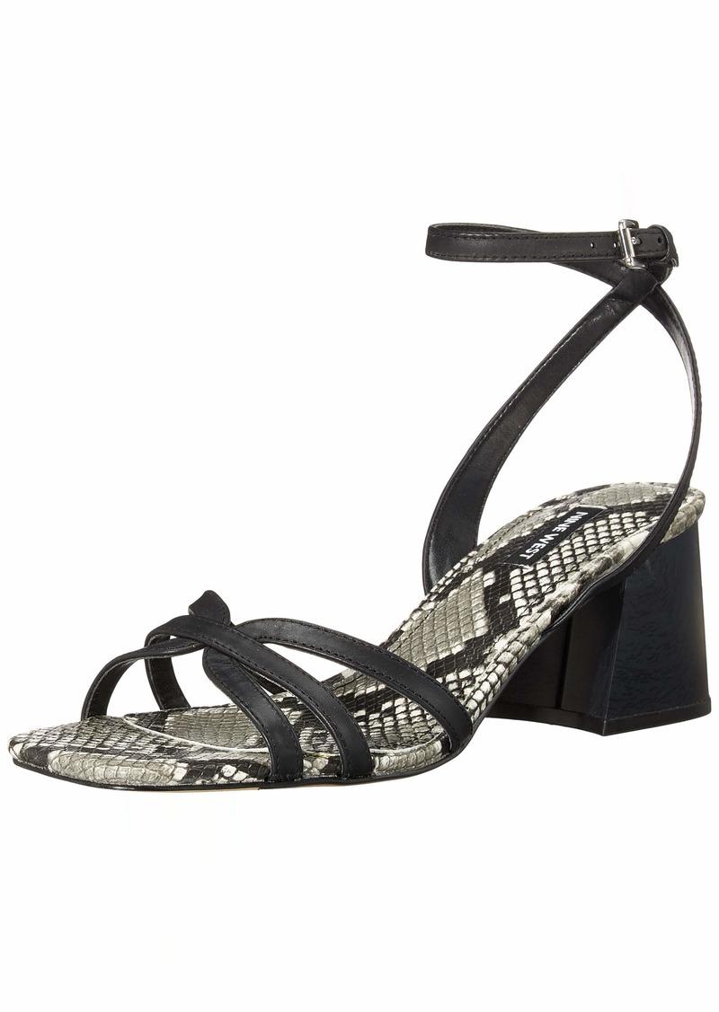 Nine West Women's wnGALEA Heeled Sandal BLACK