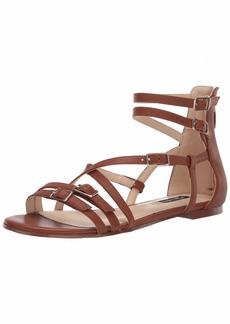 NINE WEST womens Wnlorna Flat Sandal   US