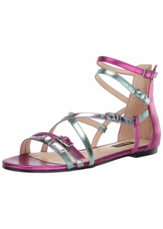 NINE WEST womens Wnlorna3 Flat Sandal   US