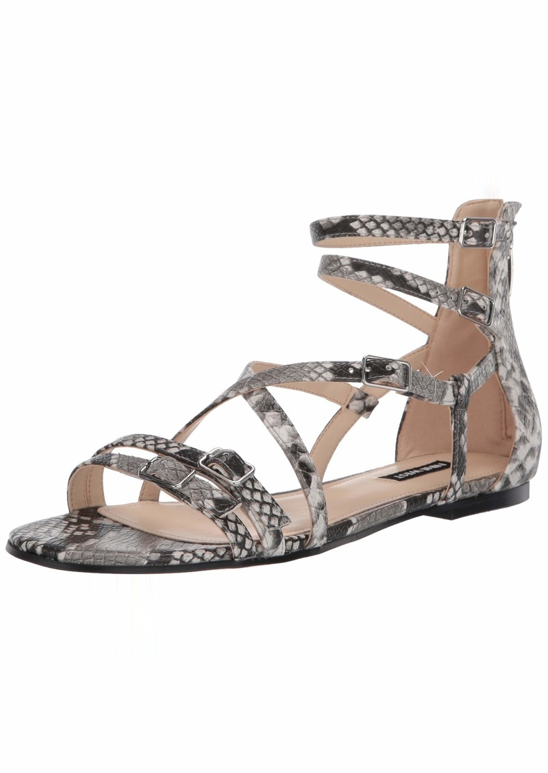 NINE WEST womens Wnlorna3 Flat Sandal   US
