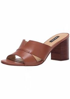 Nine West womens wnNICOLET Heeled Sandal BROWN  M US