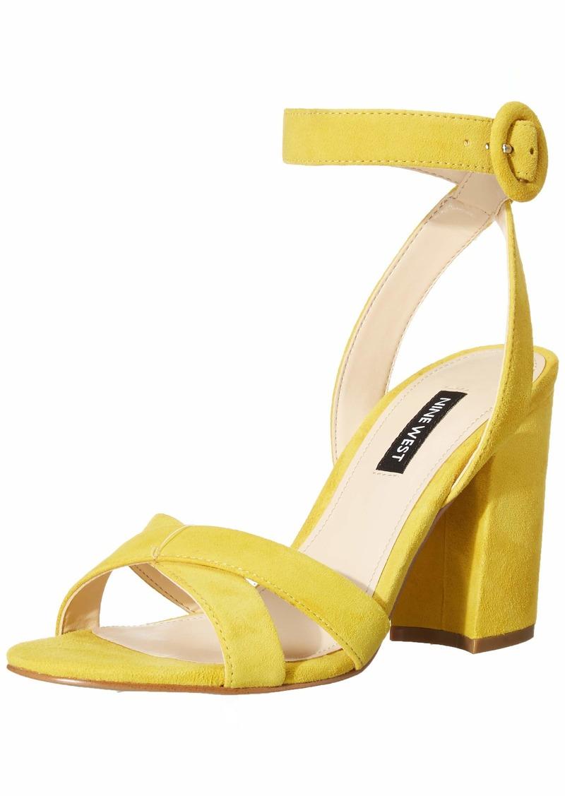 NINE WEST womens Wnnikki Heeled Sandal   US