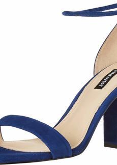 Nine West womens wnOLA Heeled Sandal DARK BLUE  M US
