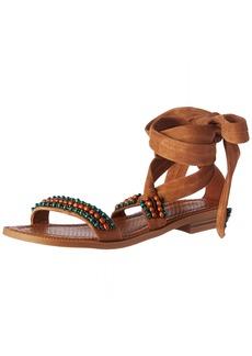 Nine West Women's Xoanna Suede Dress Sandal