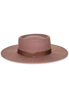 Nine West Wool Felt Telescope Floppy Hat