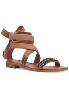 Nine West Xoanna Embellished Flat Sandals Women's Shoes