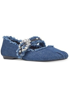 Nine West Xyleena Embellished Flats Women's Shoes