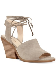 Nine West Yanka Block-Heel Sandals Women's Shoes