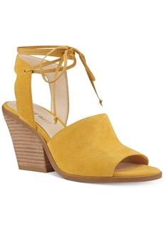 Nine West Yanka Block-Heel Sandals Women's Shoes