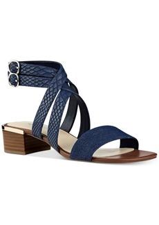 Nine West Yesta Block-Heel Strappy Dress Sandals Women's Shoes