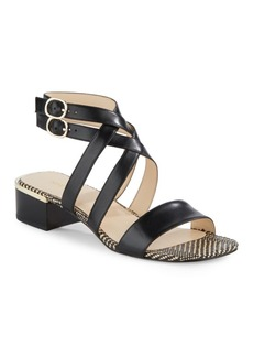 Nine West Yesta Leather Sandals