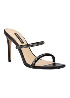 Nine West Zarleen Women's Heeled Slide Sandals Women's Shoes