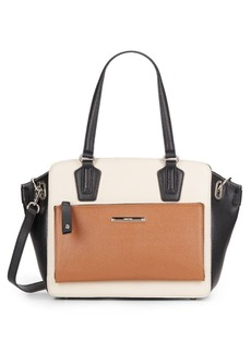 Nine West Zip N Go Color-Blocked Tote Bag