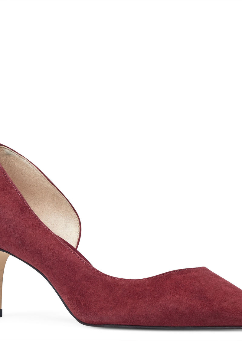 317f95736f SALE! Nine West Shatala Half d'Orsay Pumps