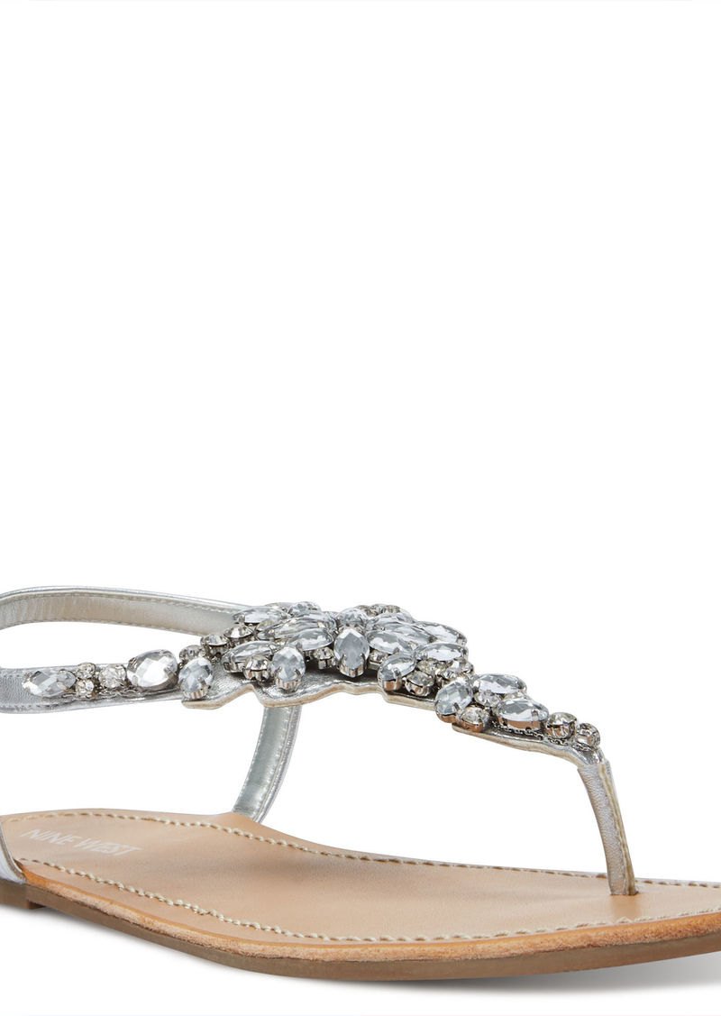 9372759a0988 Nine West Shine4me Thong Sandals