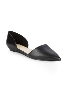 Nine West Supine Point Toe D'Orsay Flats