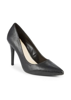 Nine West Textured Leather Pumps