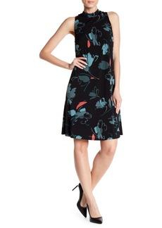 Nine West Undone Floral A-Line Dress