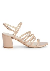 Nine West Unique Faux Leather Slingback Sandals