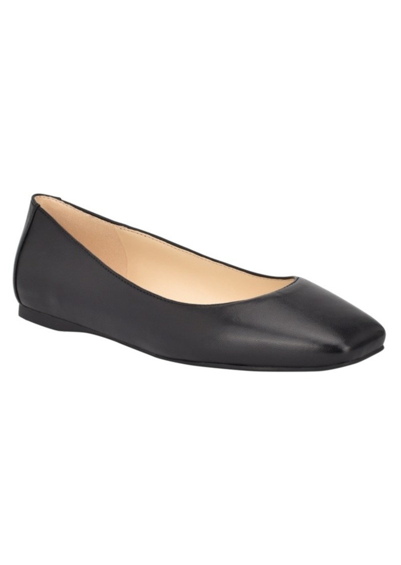 Nine West Women's Alena Square Toe Ballet Flats Women's Shoes