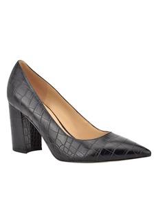 Nine West Women's Cara Block Heel Dress Pumps Women's Shoes