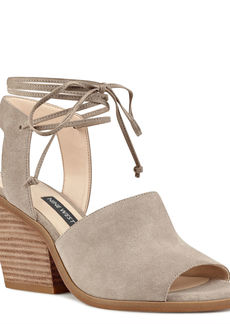 Nine West Yanka Ankle Tie Sandals