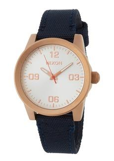 Nixon 36mm G.I. Nylon Watch