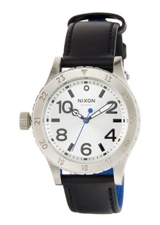 Nixon 38mm 38-20 Leather Watch