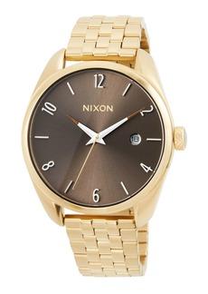Nixon 38mm Bullet Bracelet Watch