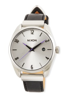 Nixon 38mm Bullet Leather Luxe Watch