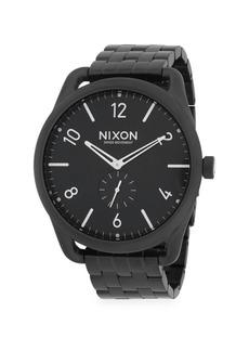 Nixon C45 Stainless Steel Chronograph Bracelet Watch