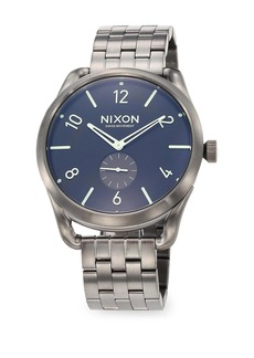 Nixon C45 Stainless Steel Chronograph Bracelet Watch