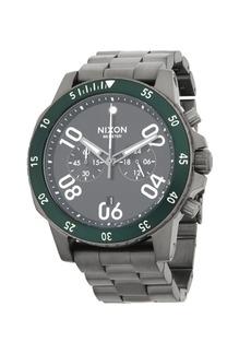 Nixon Distressed Stainless Steel Bracelet Watch