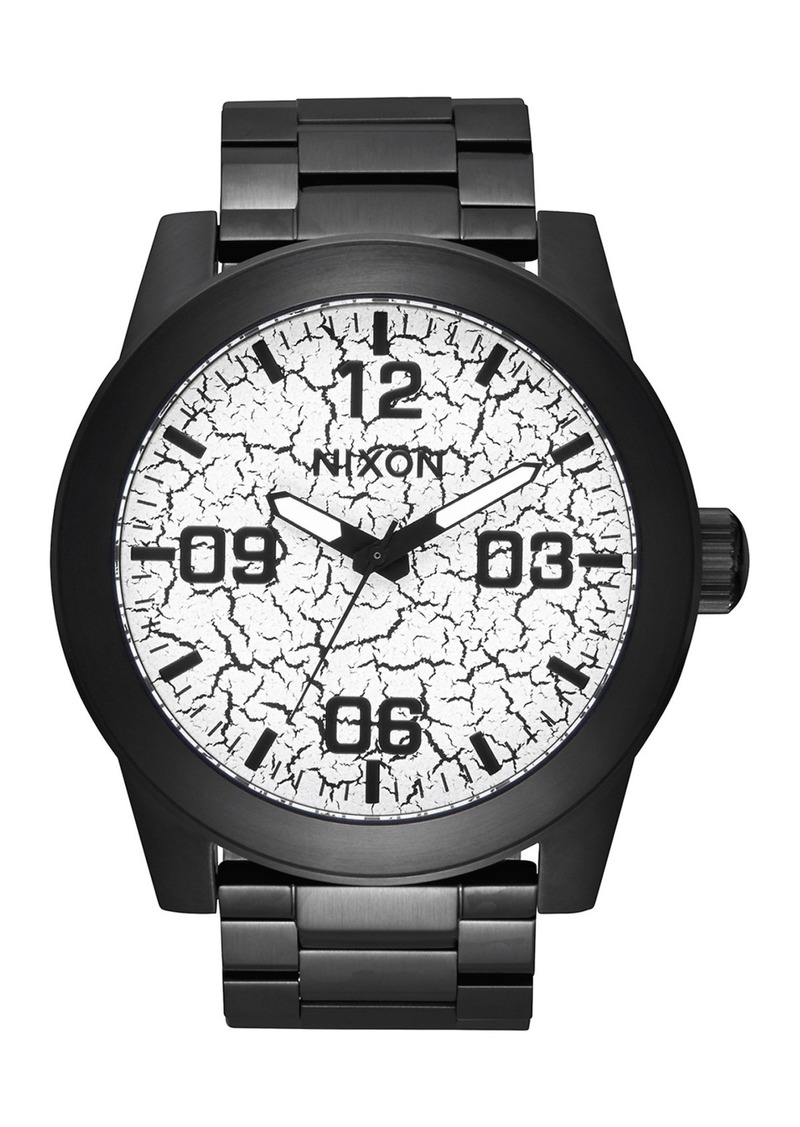e8b0b4d9508 Nixon Men s Corporal Miyota Quartz Bracelet Watch
