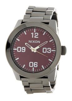 Nixon Men's Corporal SS Bracelet Watch, 48mm