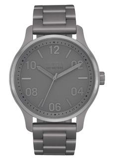 Nixon Men's Patrol Stainless Steel Bracelet Watch, 42mm