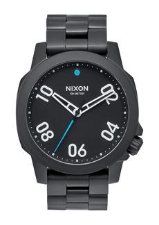 Nixon Men's Ranger Miyota Quartz Bracelet Watch, 40mm