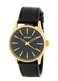 Nixon Men's Sentry 38 Leather Watch, 38mm