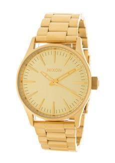 Nixon Men's Sentry 38 SS Bracelet Watch