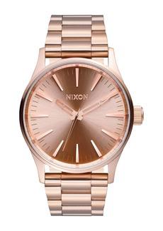 Nixon Men's Sentry Analog Quartz Bracelet Watch, 38mm