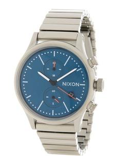 Nixon Men's Station Chronograph Bracelet Watch, 41mm
