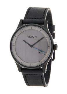 Nixon Men's Station Leather Watch, 41mm