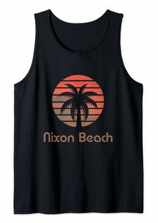 Nixon Beach Party Boat Florida America  Tank Top