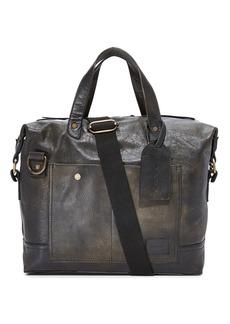 Nixon Calle Leather Briefcase