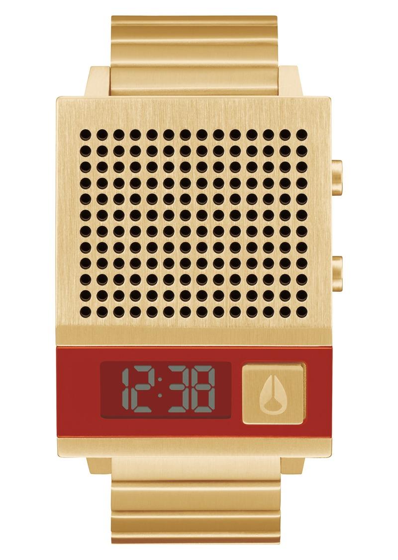 Nixon Dork Too Bracelet Watch, 34mm