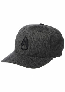 NIXON Men's Deep Down Athletic Textured Hat  Large/Extra Large