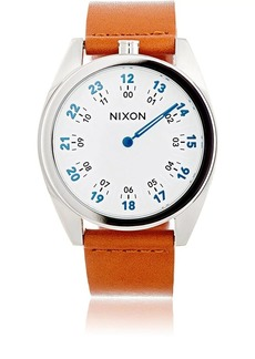 Nixon Men's Genesis Leather Watch